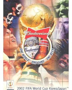 2002 World Cup Budweiser - Official Sponsor of the Games - press pack