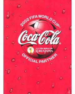 2002 World Cup - Coca Cola press pack