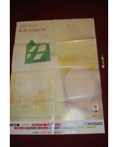 2002 World Cup Niigata Venu very large Poster 100 x 72 cm