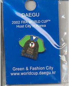 2002 World Cup Daegu - Green & Fashion City - badge