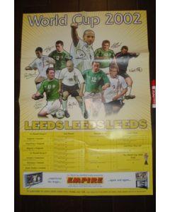 2002 World Cup - Leeds poster