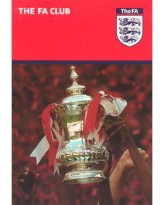 2003 FA Cup Semi-Final VIP Menu Arsenal v Sheff United