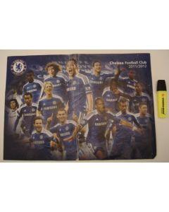 Chelsea F.C. 2011-2012 poster
