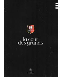 Rennes v Chelsea 24/11/2020 Official Programme also covers Rennes v Seville and Krasnodar