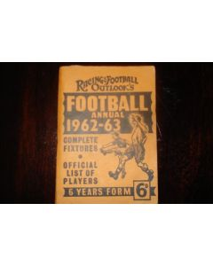 Football Annual 1962-1963 - Complete Fixtures and Official List of Players