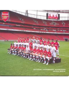 Arsenal official handbook 2008-2009 media issue