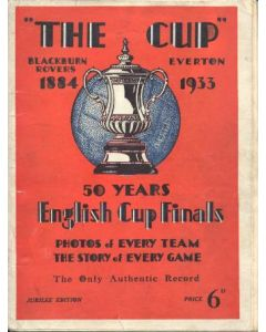 50 Years English Cup Finals 1884-1933