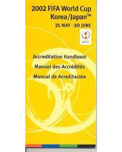 2002 World Cup Accreditation Handbook