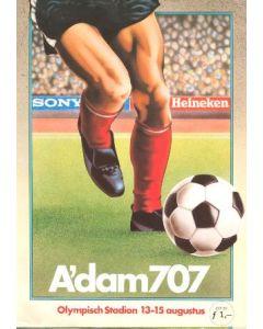 A'dam707 international tournament poster