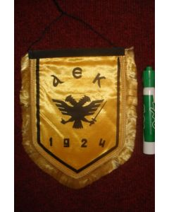AEK Pennant once property of the football referee Neil Midgley