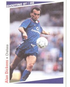 Alan Dickens Chelsea Shooting Stars Card