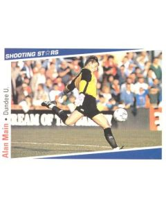 Alan Main Dundee United Shooting Stars Card