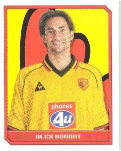 Alex Bonnot Premier League 2000 sticker
