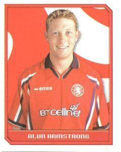 Alun Armstrong Premier League 2000 sticker