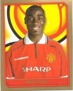 Andy Cole Premier League 2000 sticker