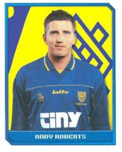 Andy Roberts Premier League 2000 sticker