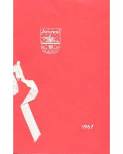 Arsenal - Dinner & Cabaret to The Honorary Stewards of Arsenal FC menu 04/12/1967