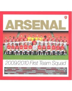 Arsenal 2009-2010 First Team Squad 29 player's cards and 1 team card