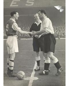 Arsenal V Derby FA Cup Tie Circa 1950
