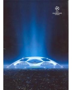 Arsenal v Dynamo Kiev UEFA produced press pack in Russian in folder 25/11/2008