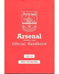 Arsenal official handbook 1967-1968