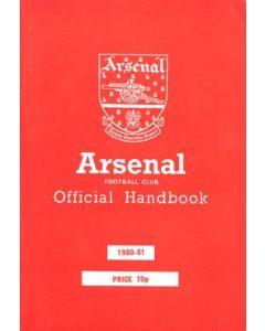 Arsenal official handbook 1980-1981