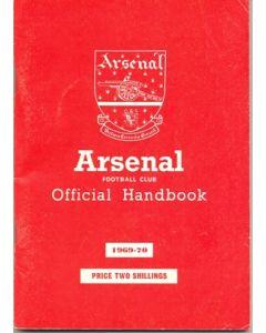 Arsenal official handbook 1969-1970