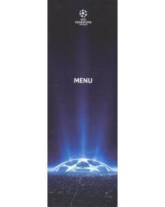 Atletico Madrid v Chelsea menu 03/11/2009