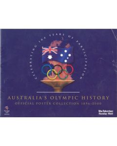 Australia's Olympic History Official Poster Collection 1896-2000 brochure