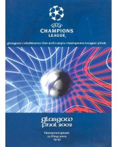 Bayer Leverkusen v Real Madrid press pack 15/05/2002 Champions League Cup Final in Glasgow