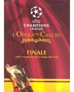 Bayern Munich v Valencia press pack 23/05/2001 Champions League Final