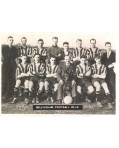 Billingham FC Photocard