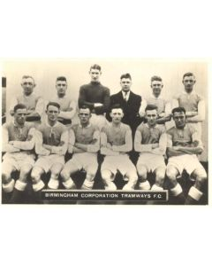 Birmingham Corporation Tramways FC Photocard