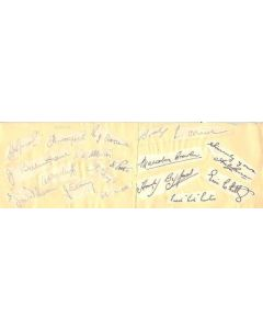 Blackpool and Burnley Autographs