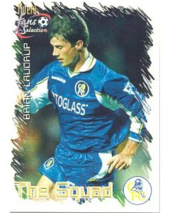 Brian Laudrup Chelsea 1999 Card
