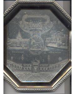 British Empire Exhibition 1924 at Wembley plate