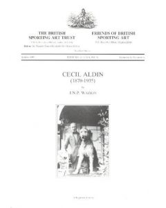 Album about Cecil Aldin (1870-1935) by J.N.P. Watson, published by The British Sporting Art Trust