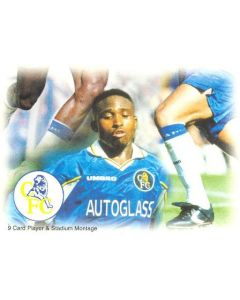 Chelsea card of 1999 featuring Celestine Babayaro