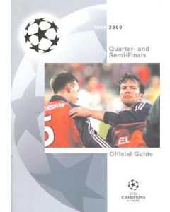1999-2000 Champions League Quarter and Semi Finals Guide