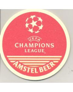 Champions League souvenir beer matt