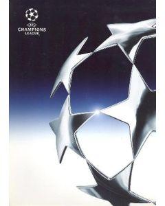 Chelsea v Lazio 2003 Press Pack