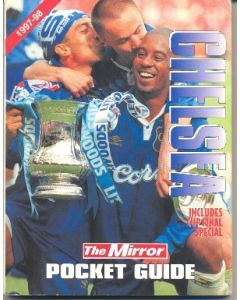 1997-1998 Chelsea Pocket Guide of The Mirror newspaper