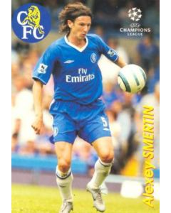 Chelsea Alexey Smertin card, Russian produced of 2000-2001