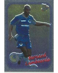 Chelsea Bernard Lambourde card silver of 2000-2001