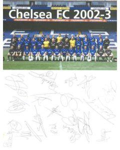 Chelsea FC 2002-2003 card
