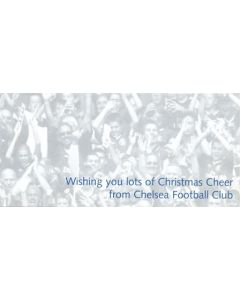 Chelsea Christmas Card with facsimile signatures