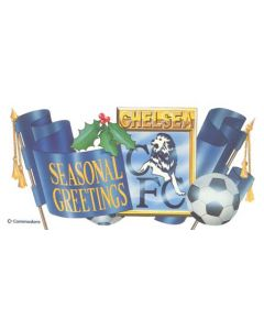 Chelsea & Commodore Christmas greetings card