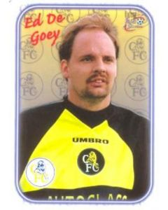 Chelsea Ed De Goey card of 2000-2001