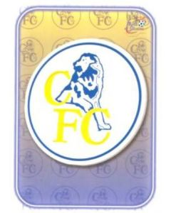 Chelsea emblem card of 2000-2001
