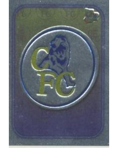 Chelsea emblem card silver of 2000-2001